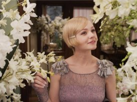 Cary Mulligan as Daisy Buchanan.